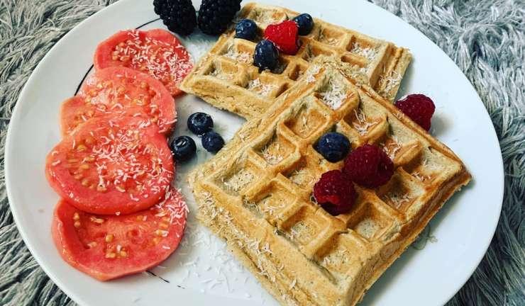 """Not guilty"" waffles"