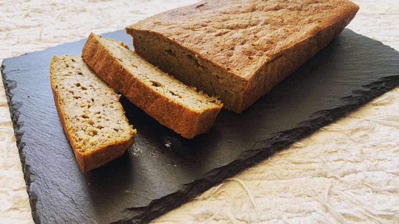 Pão de batata doce e trigo sarraceno (gluten-free)